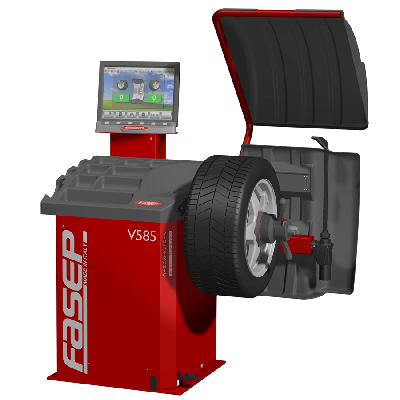 V585 G3 Video Wheel Balancer Italy
